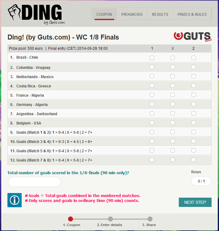 Ding! by Guts.com June 27, 2014 - World Cup 2014