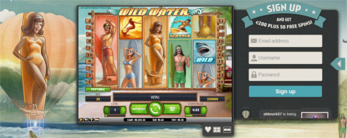 Thrills Wild Water Free Spins June 27, 2014
