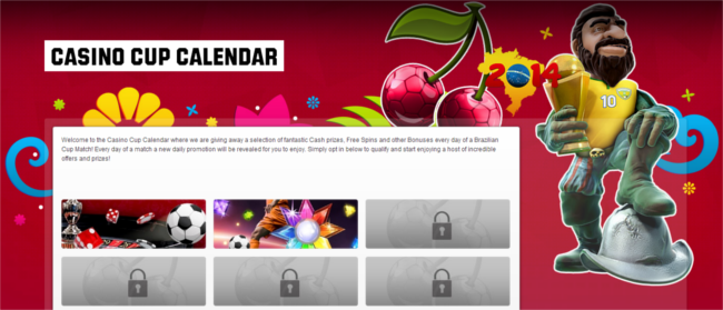 Unibet Casino Calendar June 13, 2014