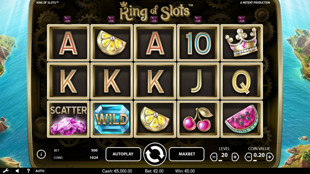 king of slots casinosaga
