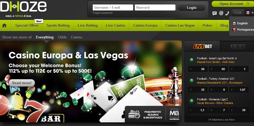 dhoze casino