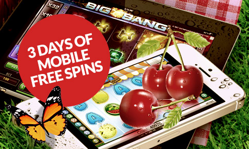 Guts 3 Days of Mobile Free Spins