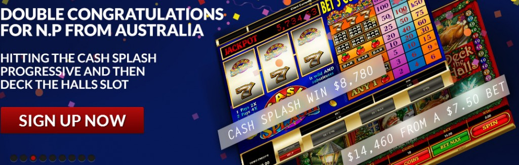 Guts N.P. Wins jackpots on two slots
