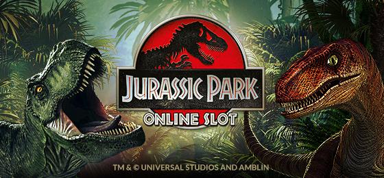Jurassic Park new online slots 2014