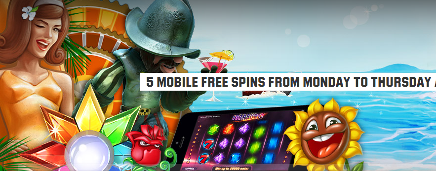 Unibet 5 Mobile Free Spins