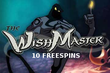 The Wish Master 10 free spins with NetEnt Follower